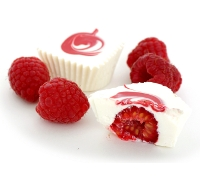 White Chocolate Raspberry Cups